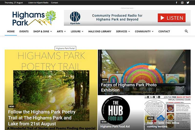 Highams Park Portal
